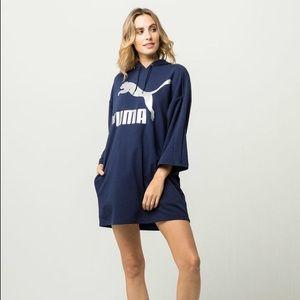 Puma Glam Oversized Hoodie Dress